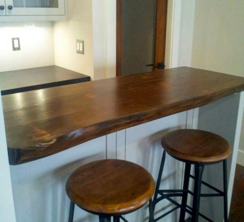 Bar with cabinetry:stools copy