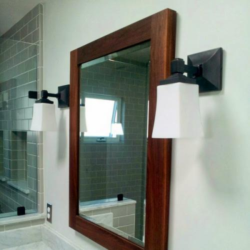 Master bath vanity mirror copy
